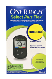 Глюкометр УанТач Селект Плюс Флекс (OneTouch Select Plus Flex)